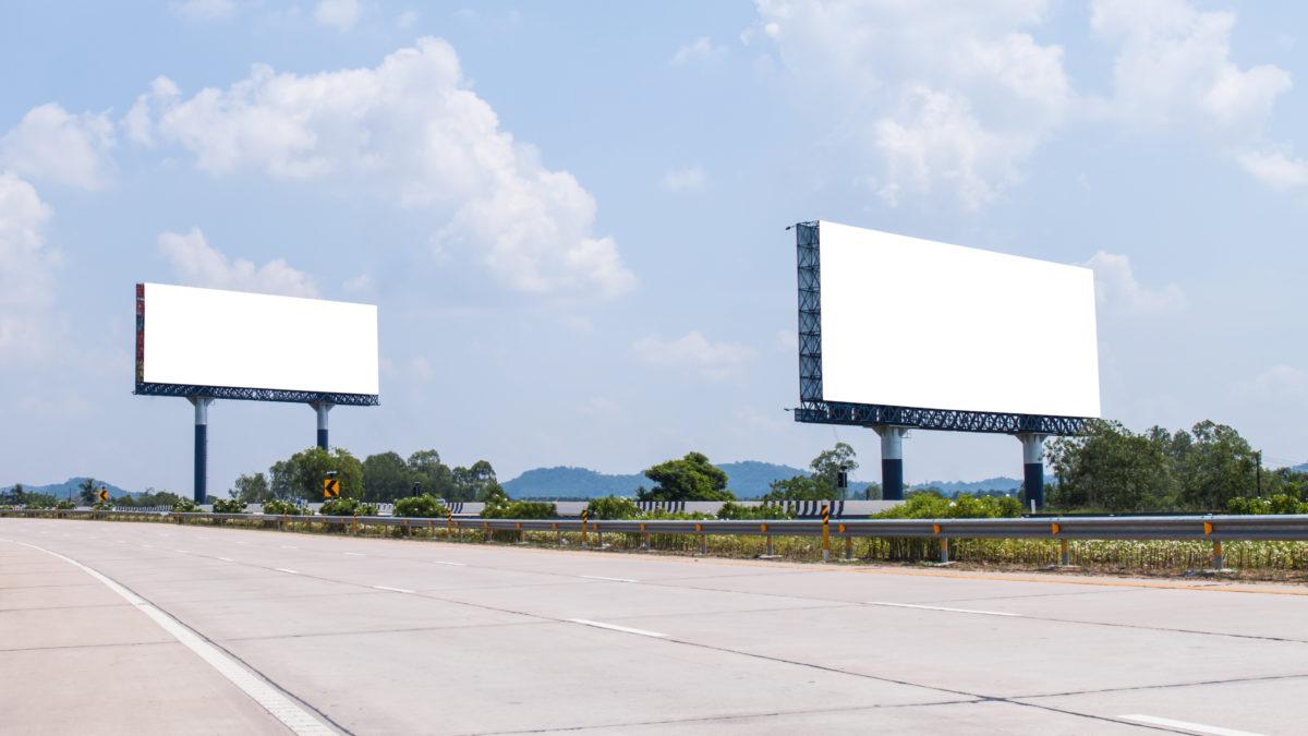 A tale of two billboards