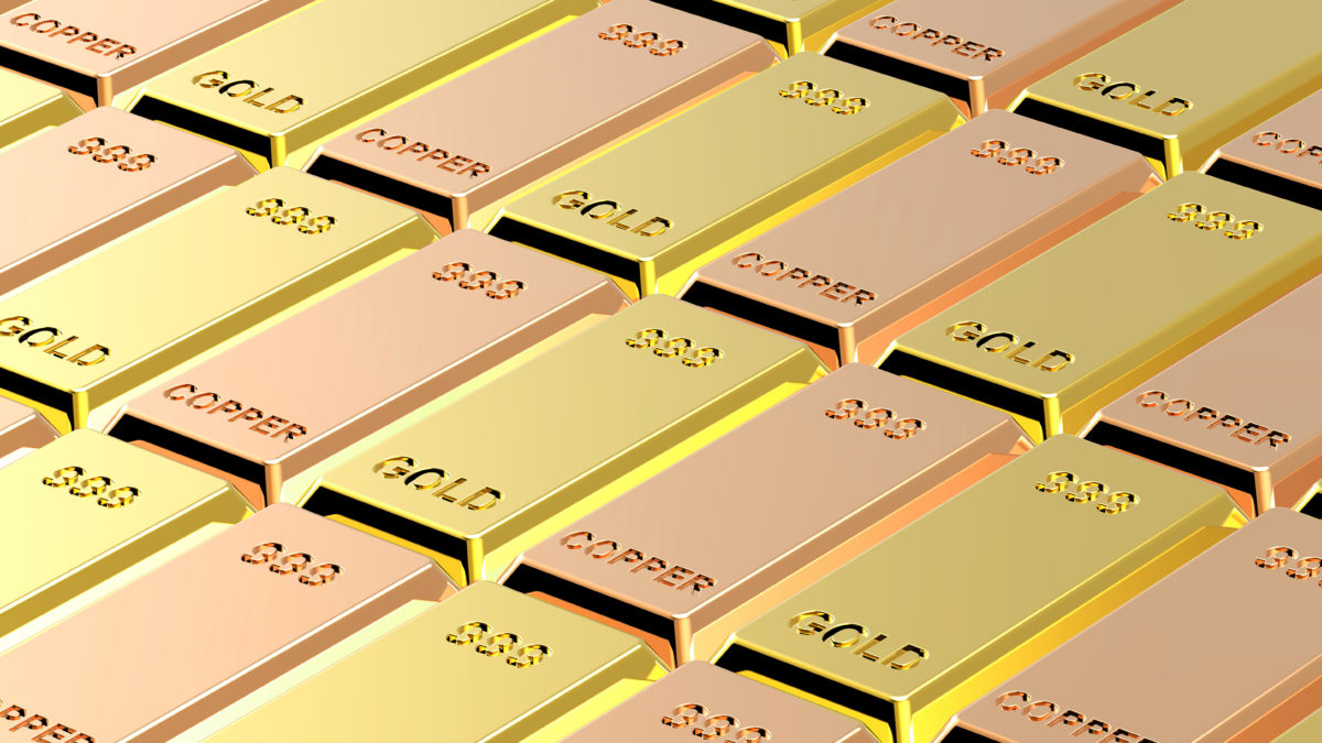 To paraphrase Yogi Berra, what can we observe by watching gold and copper?